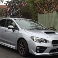 Subaru WRX STI Bike Rack
