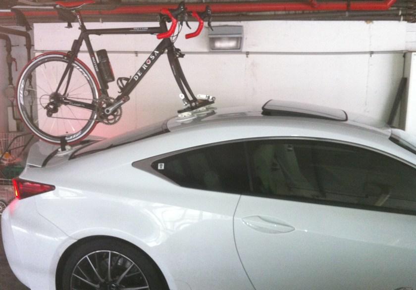 Lexus RC F Bike Rack – The Mini Bomber