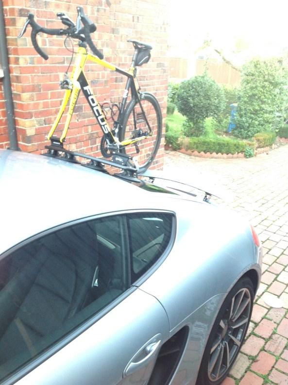 Porsche Cayman S Bike Rack