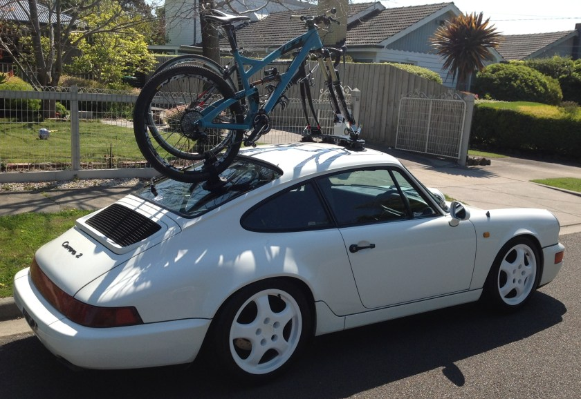 Porsche Carrera 2 Bike Rack - The Mini Bomber