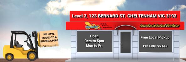 New premises 123 Bernard St Cheltenham VIC 3192