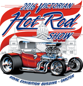 Victorian Hot Rod Show logo