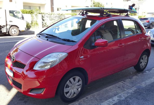 Toyota Yaris Roof Rack Seasucker Down Under