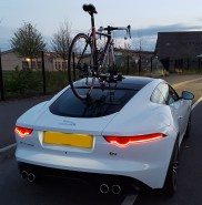 2015 Jaguar F-Type SeaSucker Talon Rear View