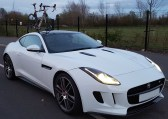 2015 Jaguar F-Type SeaSucker Talon Front View