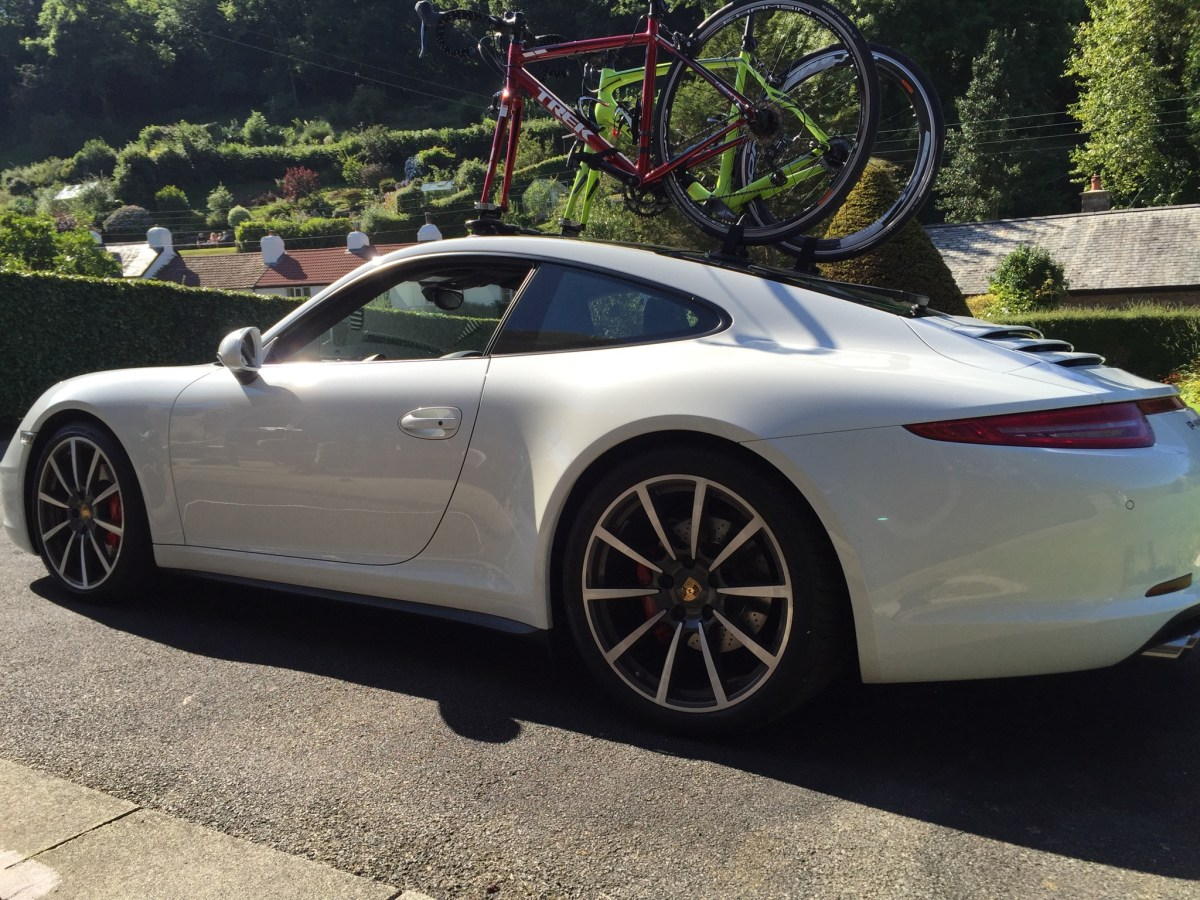 Porsche 911 Bike Rack Update