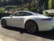 2014 Porsche 911 with full glass roof and SeaSucker Mini Bomber