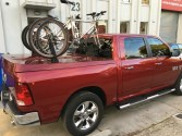 Dodge RAM 1500 Bike Rack - The SeaSucker Bomber
