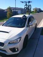 Subaru WRX STI and SeaSucker Talon Bike Rack