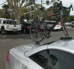 Mercedes SL500 Bike Rack - The SeaSucker Talon
