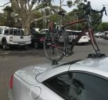 Mercedes SL500 Bike Rack - The SeaSucker Talon