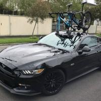 Ford Mustang Bike Rack