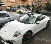 Baden Cooke Porsche Carrera 4S & SeaSucker Mini Bomber