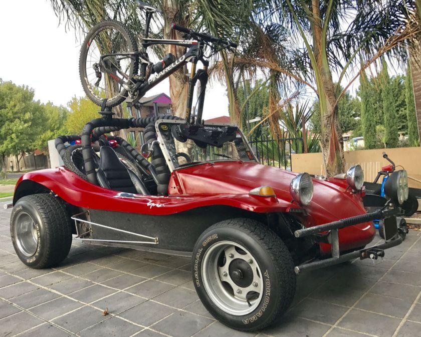 Dune Buggy Bumpers : Vw dune buggy bike rack seasucker down under