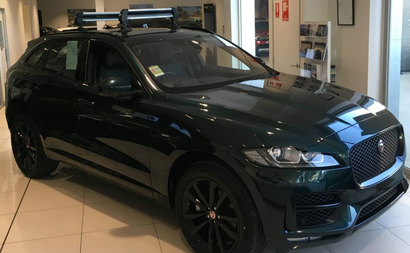 Jaguar F-Pace Ski Rack - The SeaSucker Ski & Snowboard Rack