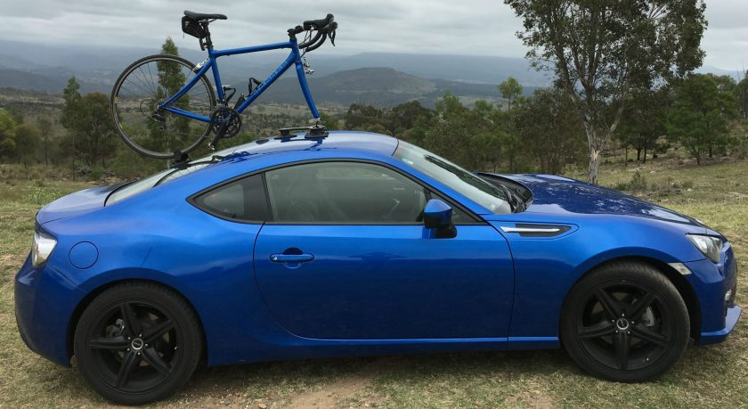 Subaru Brz Bike Rack Seasucker Down Under