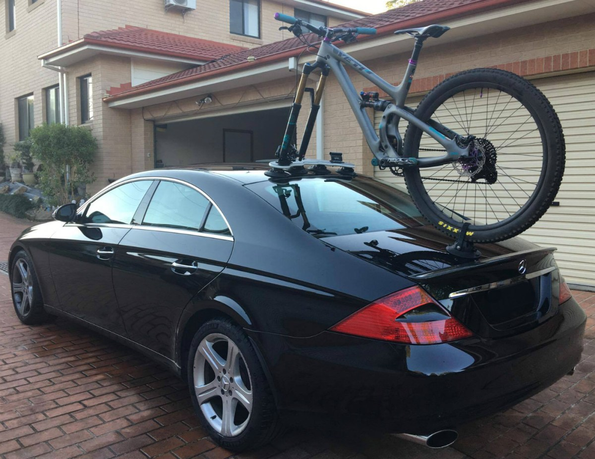 Mercedes CLS500 Bike Rack