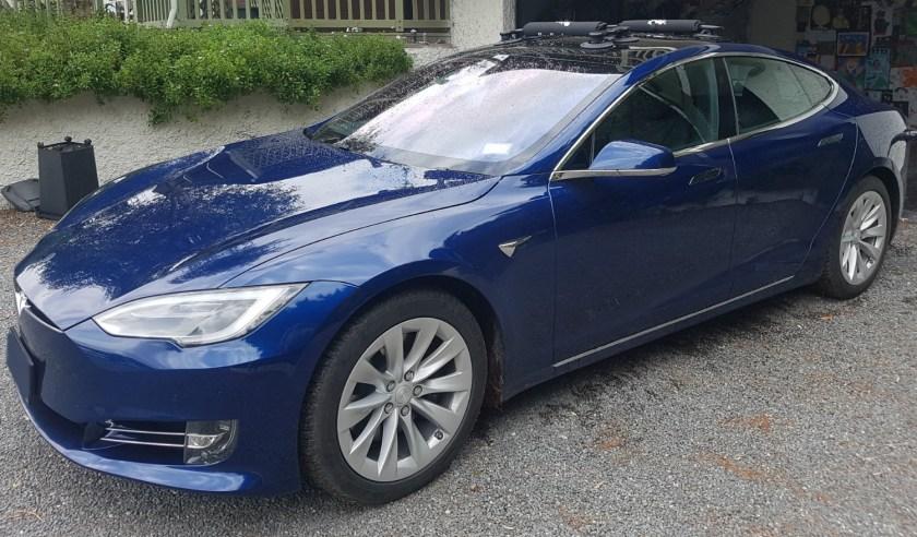 Tesla Model S Surfboard Rack - The SeaSucker Board Rack