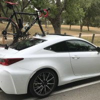 Lexus RC F Bike Rack - 3 Years Later