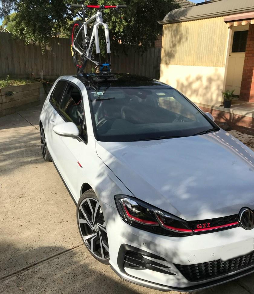 VW Golf GTI Bike Rack - The SeaSucker Talon