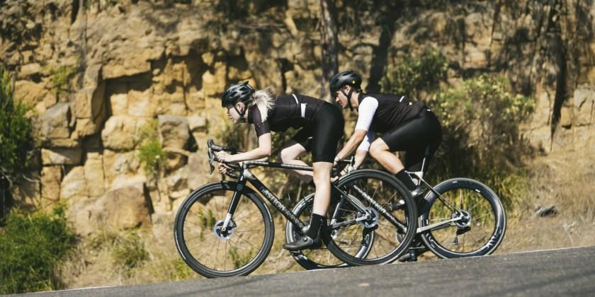 Bastion Cycles bespoke bikes on downhill run