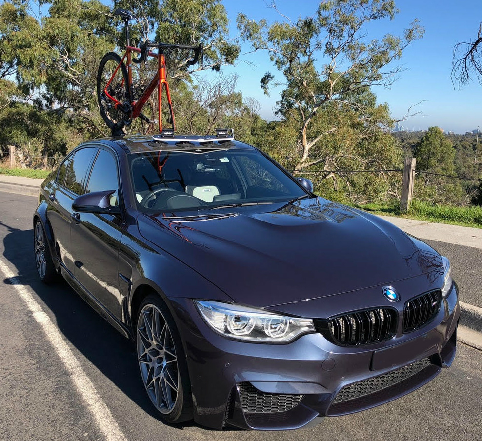 Bmw M3 Sedan Bike Rack Seasucker Down Under