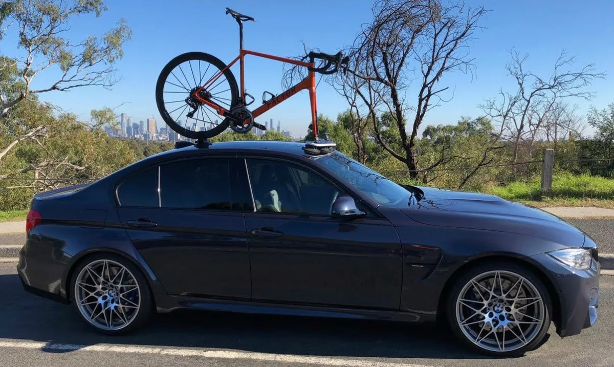BMW M3 Sedan Bike Rack