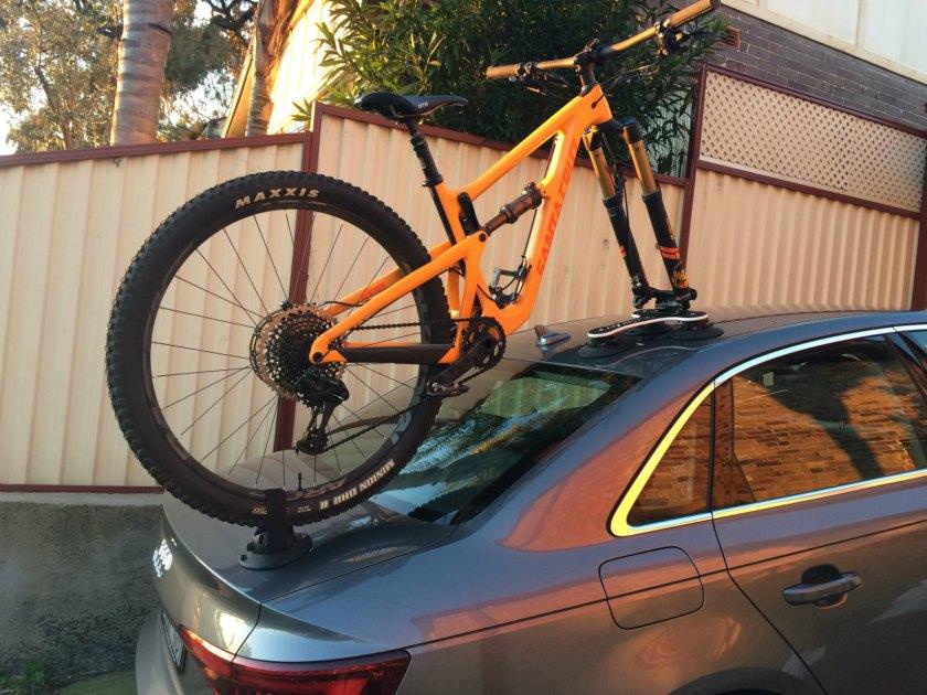 Audi A4 Bike Rack - The SeaSucker Talon