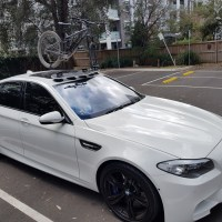 BMW M5 Bike Rack