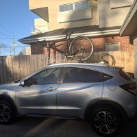 Honda HRV Bike Rack