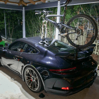 Porsche GT3 Bike Rack - The SeaSucker Talon
