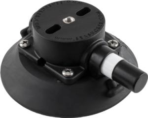 114 mm SeaSucker Black Vacuum Mount