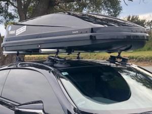 SeaSucker Roof Rack on Lexus LC500