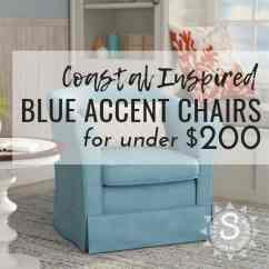 Blue Accent Chairs For Living Room Small With Fireplace And Tv Ideas Coastal Under 200 Seas Your Day Https Seasyourday Com