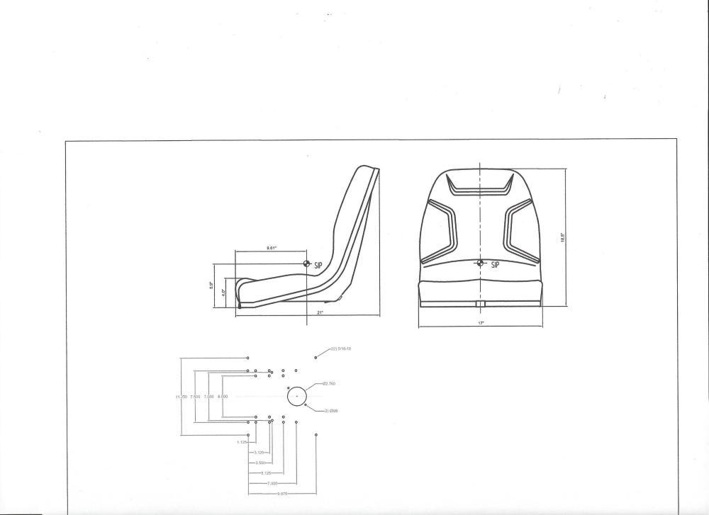 medium resolution of seat massey ferguson 210 220 1020 1030 1035 1040 1140