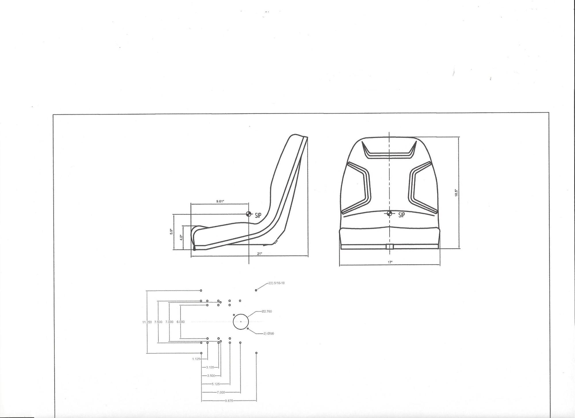 hight resolution of seat massey ferguson 210 220 1020 1030 1035 1040 1140