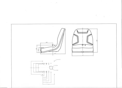 small resolution of seat massey ferguson 210 220 1020 1030 1035 1040 1140