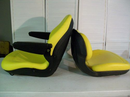 small resolution of yellow seat for john deere x300 x300r x320 x340 x360 x500 x520 x530 garden tractors ki