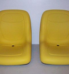 pair of high back seats john deere gators hpx 4x4 4x2 6x4 xuv 850d tx th jr [ 1600 x 1065 Pixel ]