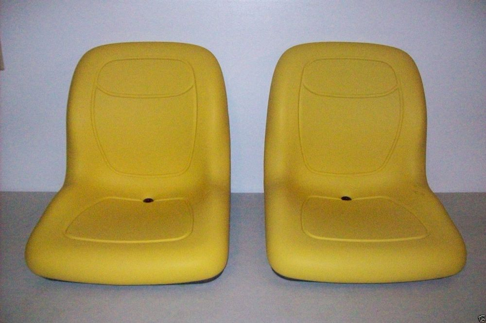 medium resolution of pair of high back seats john deere gators hpx 4x4 4x2 6x4 xuv 850d tx th jr