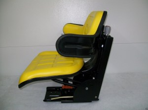 SUSPENSION SEAT JOHN DEERE TRACTOR YELLOW 1020, 1530, 2020, 2030, 2040, 2150 #IE  Seat Warehouse