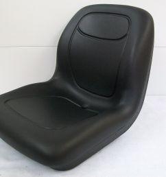 black seat fit kubota l2800 l3400 l4400 mx4700 mx5100 mx5000 compact tractor gg [ 1600 x 1200 Pixel ]