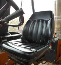 high back black seat case backhoe loader 580c 580d 580e 580l 580m [ 1600 x 1200 Pixel ]