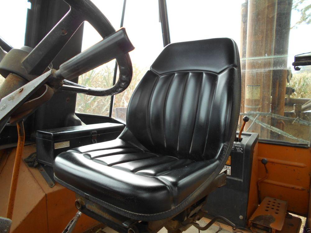 medium resolution of  high back black seat case backhoe loader 580c 580d 580e 580l 580m