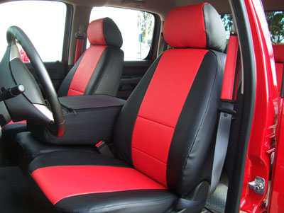 Chevy Silverado 20072013 Leatherlike Custom Seatcover  Ebay