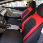 Car Seat Covers Protectors Bmw 5 Series E60 Black Red No25 Complete