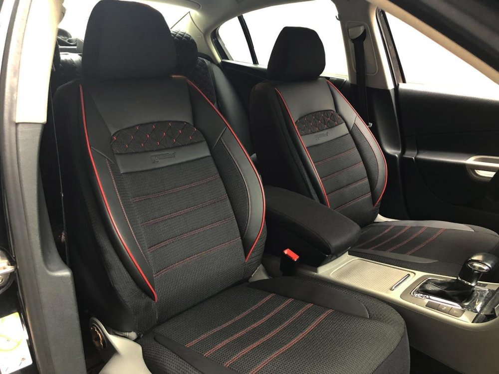 medium resolution of car seat covers protectors for bmw 3 series touring e46 black red v24 front seats