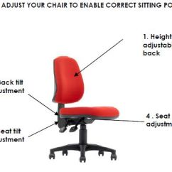 Ergonomic Chair Grainger Office Executive With Adjustable Back Height. Chairs Wheels Best Fully ...