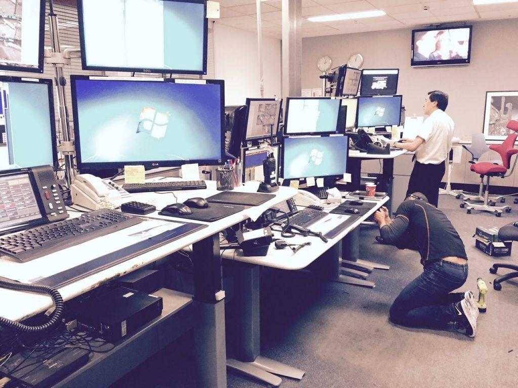 Recent Project Qantas Airport Control Room  Heavy Duty