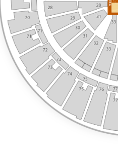 Frank erwin center seating chart classical also  map seatgeek rh